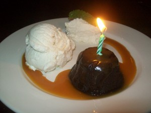 Who could pass on the lava cake?